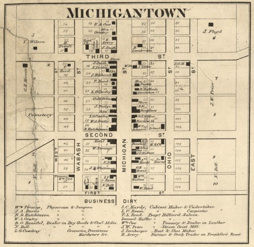 Michigantown 1865